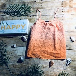 🌊☀️Banana Republic Orange Ombré Camisole NWT☀️🌊